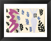 """The Knife Thrower, plate XV from """"Jazz"""", 1943 - Henri Matisse"""