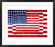Three Flags - Jasper Johns