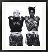Andy Warhol and Jean Michel Basquiat - Jean-Michel Basquiat