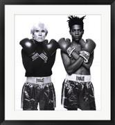 Andy Warhol and Jean Michel Basquiat - Jean-Michel Basquiat