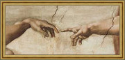 Creation of Adam (Detail) - Michelangelo Buonarroti