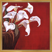 Callas on Red - Ann Parr