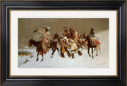 Return of the Blackfoot War Party - Frederic Remington