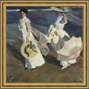 Walk on the Beach - Joaquín Sorolla Bastida