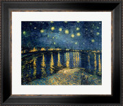 Starry Night over the Rhone, c.1888 - Vincent Van Gogh