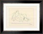 Femme et enfant (serigraph) - Pablo Picasso