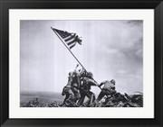 Flag Raising on Iwo Jima, February 23, 1945 - Joe Rosenthal