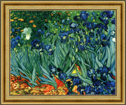Irises in the Garden, Saint-Remy, c.1889  - Vincent Van Gogh