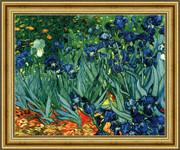 Irises in the Garden, Saint-Remy, c.1889  - Vincent Van Gogh
