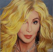 Beautiful Steve Kaufman Cher Blonde