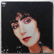 Great Steve Kaufman Cher Black Hair