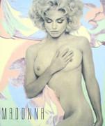 Dynamic Steve Kaufman Madonna Half Naked