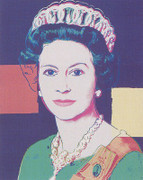 Fabulous Andy Warhol, Edition Prints Reigning Queens - Queen Elizabeth Ii Of The United Kingdom [Ii.335], 1985