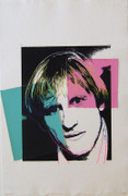 Exciting Andy Warhol, Original Works Gerard Depardieu, 1986