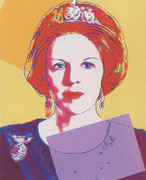 Extraordinary Andy Warhol, Edition Prints Reigning Queens - Queen Beatrix Of The Netherlands [Ii.341], 1985