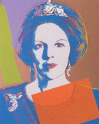 Fab! Andy Warhol, Edition Prints Reigning Queens - Queen Beatrix Of The Netherlands [Ii.338], 1985