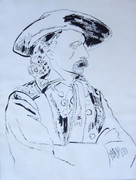 Splendid Andy Warhol, Original Works Custer, 1986