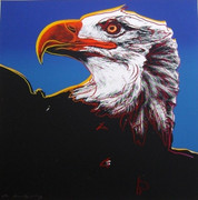 Dynamic Andy Warhol, Trial Proofs And Uniques Endangered Species: Eagle, 1983
