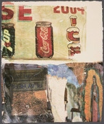 Robert Rauschenberg La Uncovered #3, 1998