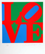 Exciting Robert Indiana, The Book Of Love 7, 1996