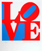 Extraordinary Robert Indiana, The Book Of Love 5, 1996