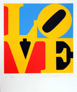 Fab! Robert Indiana, The Book Of Love 6, 1996