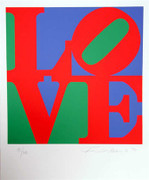 Fabulous Robert Indiana, The Book Of Love 12, 1996