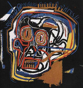 Exciting Jean Michel Basquiat, Untitled Skull Head, 1983/2001