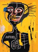 Extraordinary Jean Michel Basquiat, Cabeza, 1982/2005