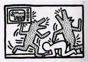 Splendid Keith Haring, Edition Prints Untitled #3, 1982