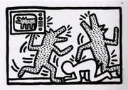 Splendid Keith Haring, Edition Prints Untitled #3, 1982