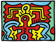 Fab! Haring Edition Prints, Growing #5, 1988