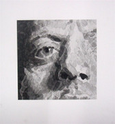 Rare Chuck Close, Phil (Detail), 2007