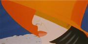 Splendid Alex Katz, Orange Hat, 1990