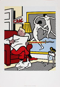 Dynamic Lichtenstein Tintin Reading