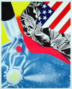 Dynamic Rosenquist At Leo Castelli's