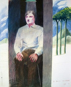 Extraordinary David Hockney Prisoner from Amnesty International