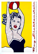Great Lichtenstein Girl With Ball