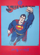Extraordinary Warhol Superman (Red)
