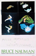 Extraordinary Nauman Falls, Pratfalls + Sleights of Hand. Photo by Bruce Nauman