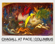 Stunning Chagall Enlevement de Chloe (Abduction of Chloe)
