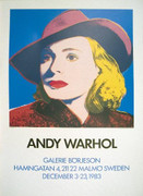 Rare Warhol Ingrid with Hat
