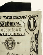 Great Warhol One-Dollar Bill (Detail)