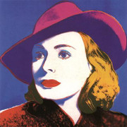 Fabulous Warhol Ingrid with Hat lg.