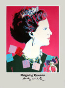 FAB! Warhol Queen Margrethe II of Denmark
