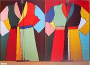 Rare Dine Double Robe with Zipper