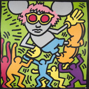 Keith Haring Andy Mouse, 1986