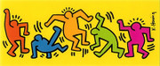 Keith Haring Colorful Figures Art Print