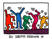 Keith Haring The Dance Art Print