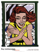 Roy Lichtenstein Girl at Window Art Print